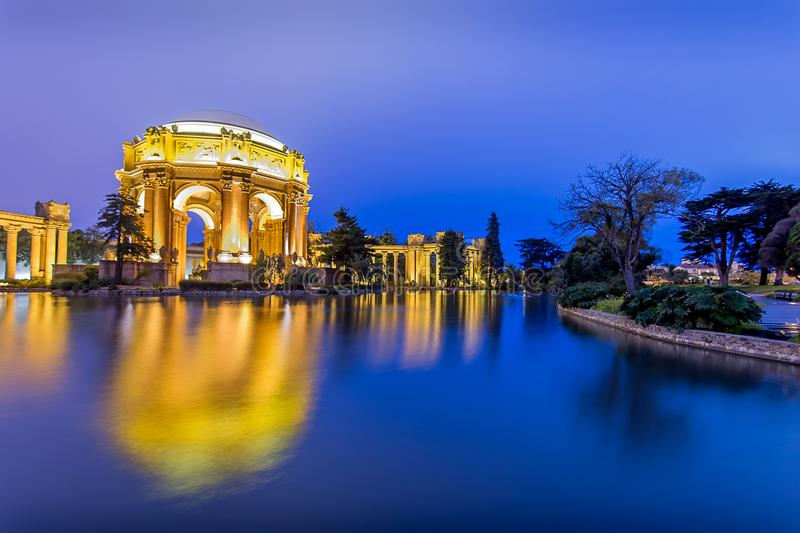 The Palace of Fine Arts stock photos