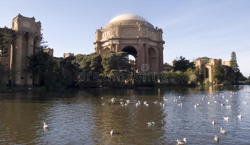 Download Palace Of Fine Arts On Sunny Day Stock Image - Image: 30409057