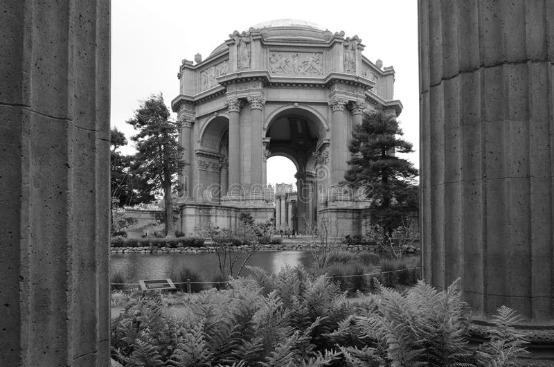 Palace of Fine Arts Theatre in San Francisco, CA royalty free stock image