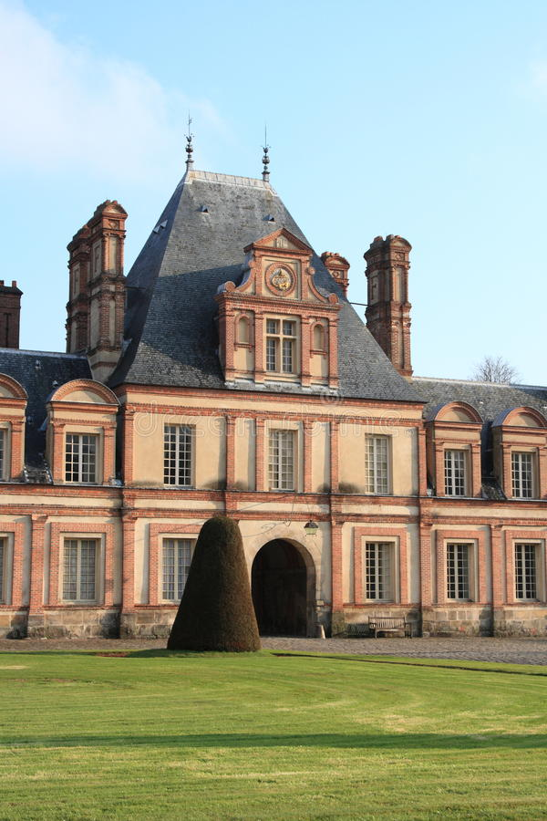 Download Palace of Fontainebleau stock photo. Image of imperial - 23307254