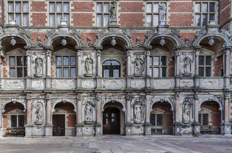Palace front side royalty free stock photography