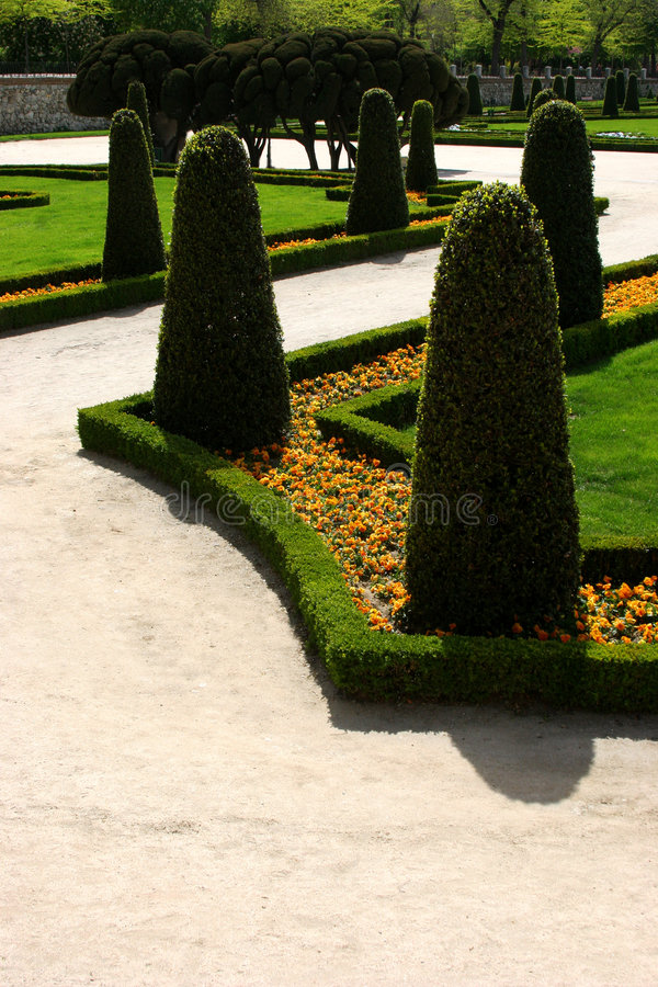 Download Palace garden stock image. Image of grass, palace, madrid - 112845