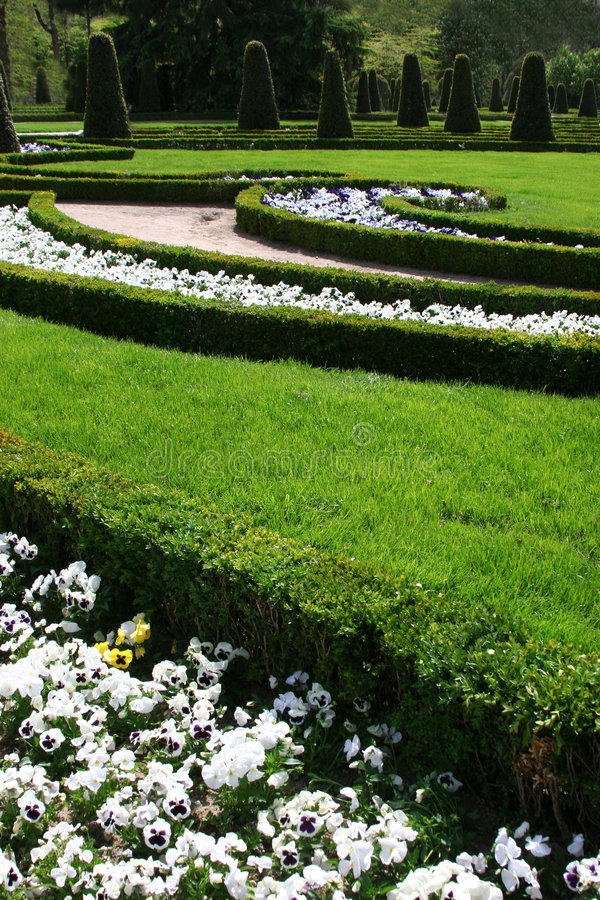 Download Palace garden stock photo. Image of landmark, yard, grass - 112846