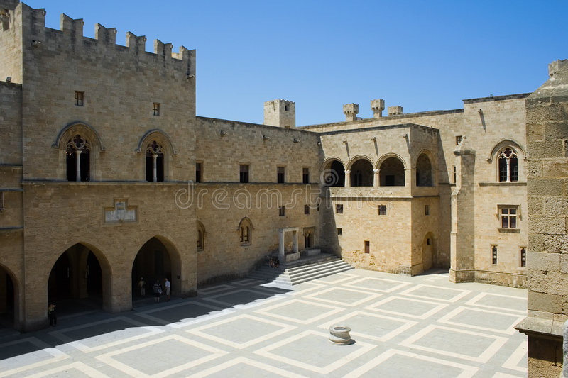Download Palace Of The Grand Masters Stock Image - Image: 2801857
