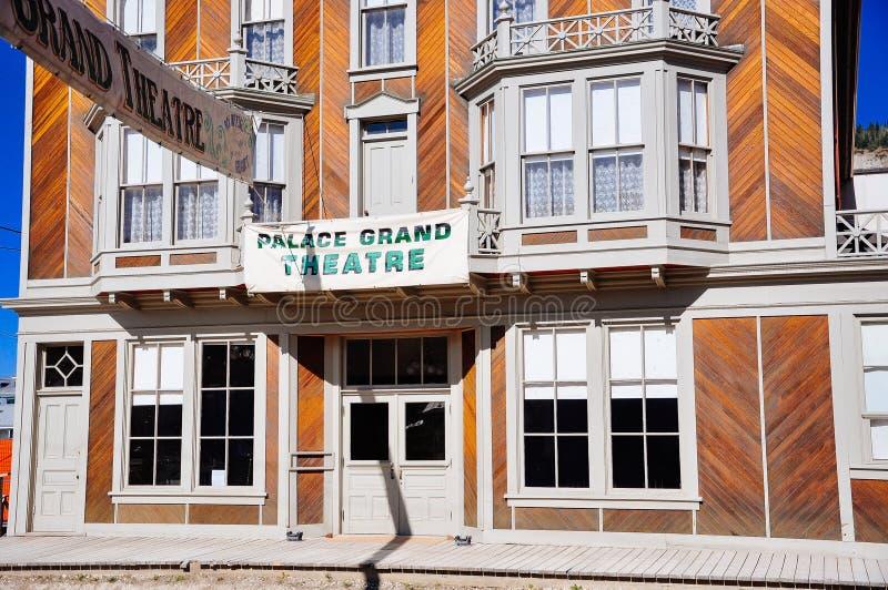 The Palace Grand Theatre in Dawson City, Yukon. Inside the S.S. Keno sternwheeler in Dawson City, Yukon, Northwest Canada royalty free stock image