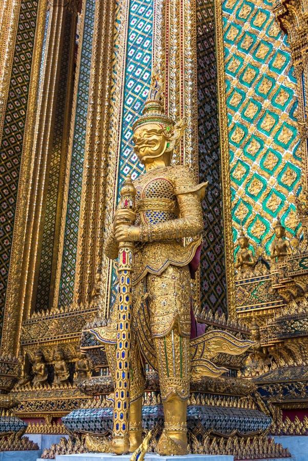 Palace guardian statue in Bangkok, Thailand royalty free stock images
