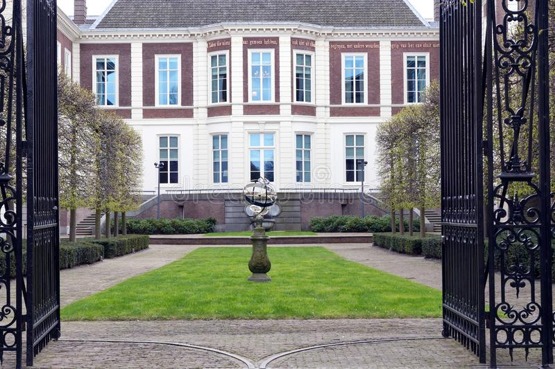 Palace. In Hague Netherlands in spring stock photo