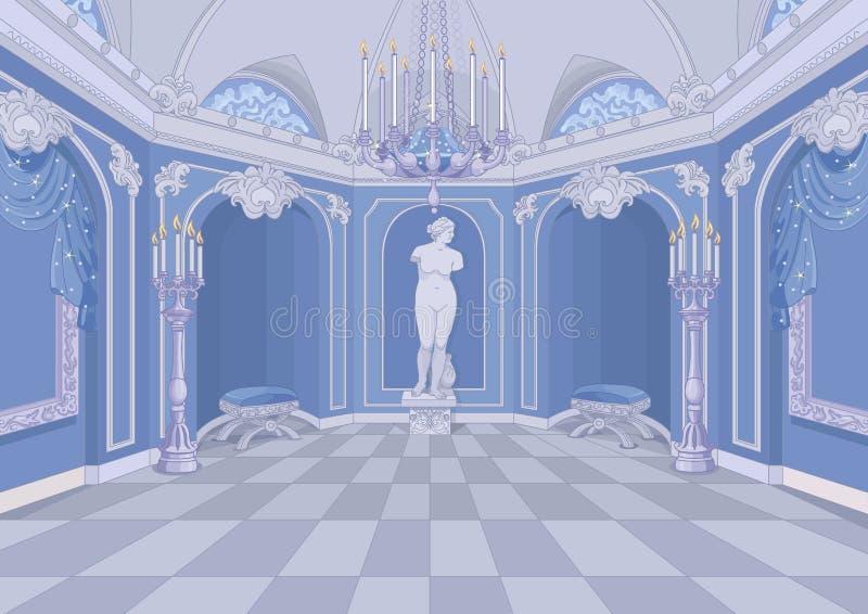 Palace Hall. Illustration of a Palace hall vector illustration