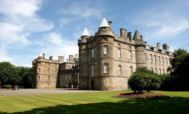 Palace of Holyroodhouse stock image
