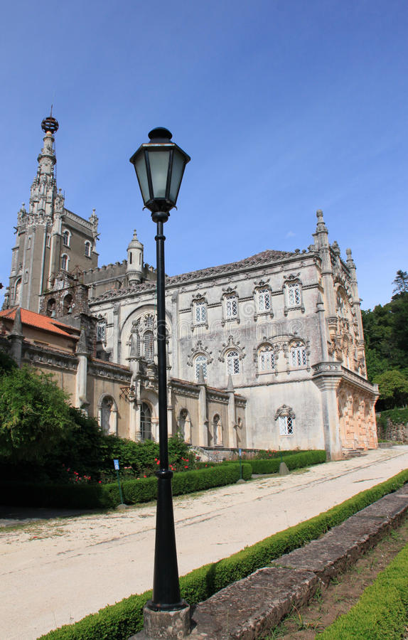 Palace hotel in Bussaco royalty free stock photo