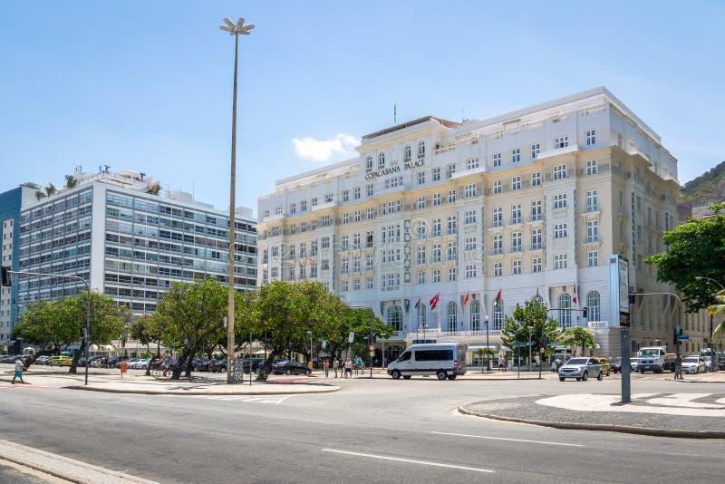 Palace Hotel de Copacabana - Rio de Janeiro, el Brasil fotos de archivo libres de regalías