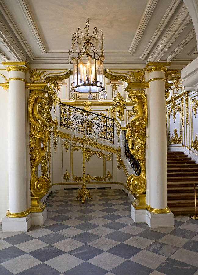 Download Palace interior 1 stock photo. Image of russia, entrance - 6036532