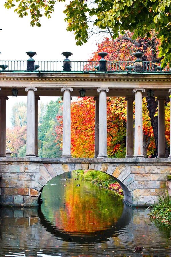 Palace on the Island. Lazienki park, Warsaw royalty free stock photo