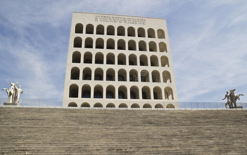 Download Palace Of Italian Civilization In Eur, Rome Editorial Photo - Image: 39336316