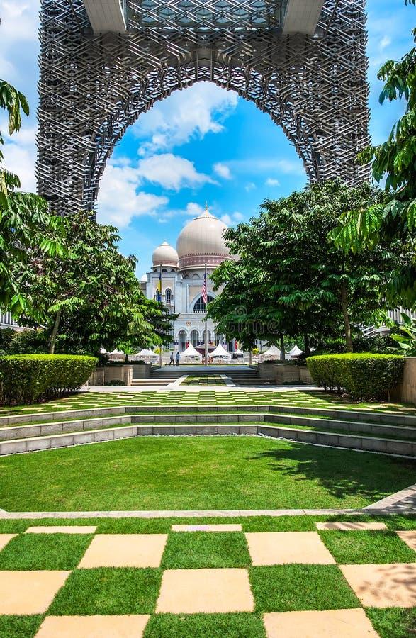 Palace of justice. Palace of justice Putrajaya, Malaysia stock images