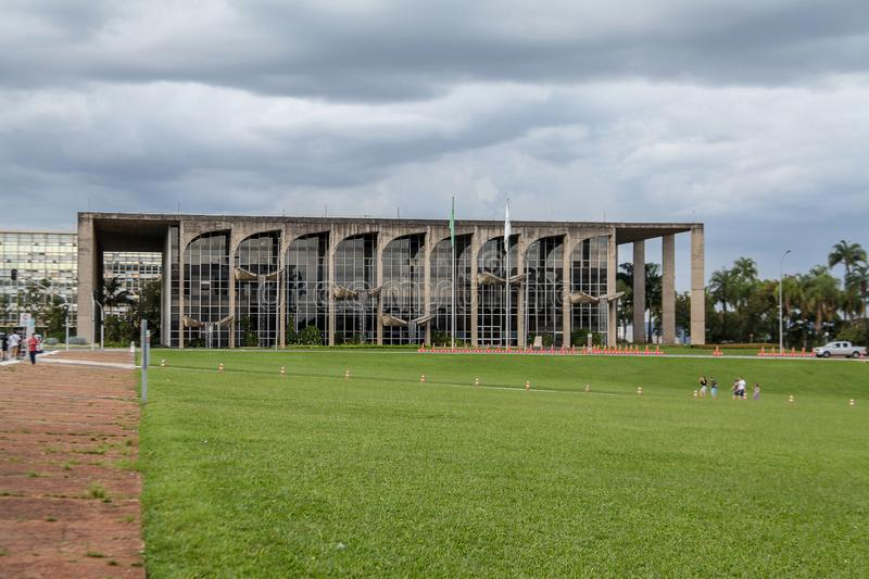 Palace of Justice, Ministry of Justice. Brasilia stock photos