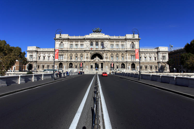 Palace of Justice ,Rome royalty free stock images