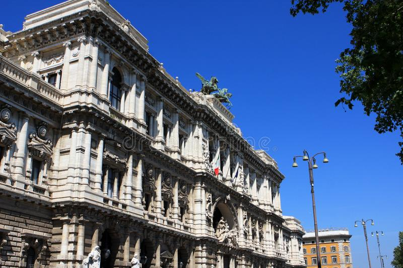 The Palace of Justice, Rome, Italy royalty free stock photo