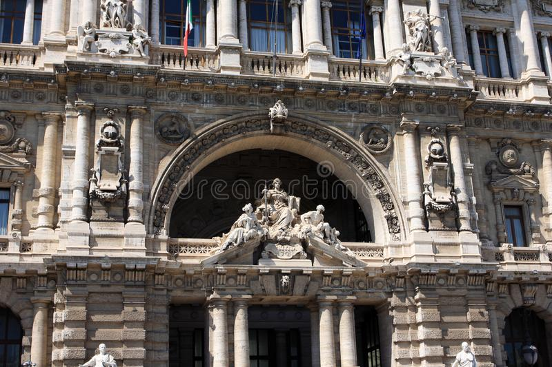 The Palace of Justice, Rome, Italy stock photos
