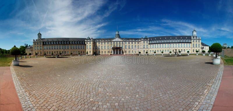 Palace at Karlsruhe Germany. View of the Palace at Karlsruhe Germany Europe stock images