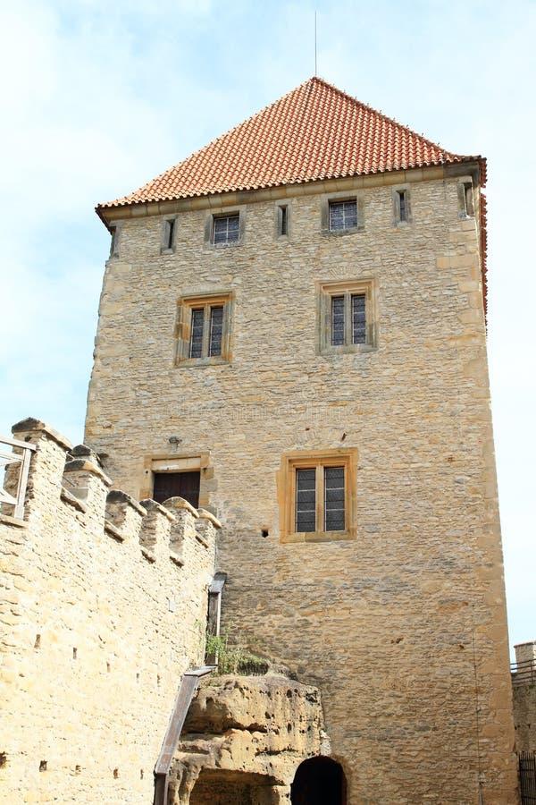 Palace of Kokorin castle. Palace of medieval castle Kokorin, Czech Republic stock photos