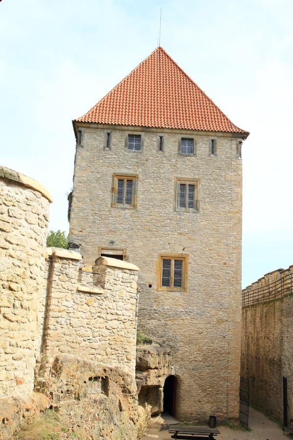 Palace of Kokorin castle. Palace of medieval castle Kokorin, Czech Republic royalty free stock photo