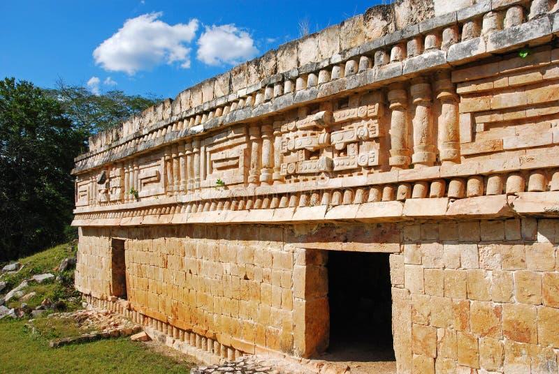 The Palace of Labna. Mayan Ruins - The Palace, Labna, Yucatan royalty free stock photography