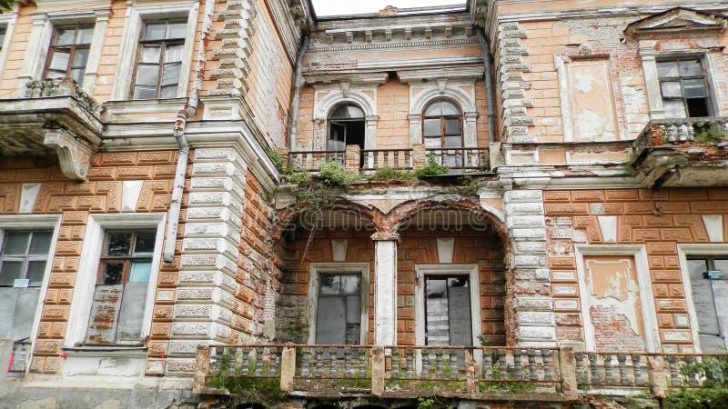 Palace of Leszczynski, Sumy region. stock photo