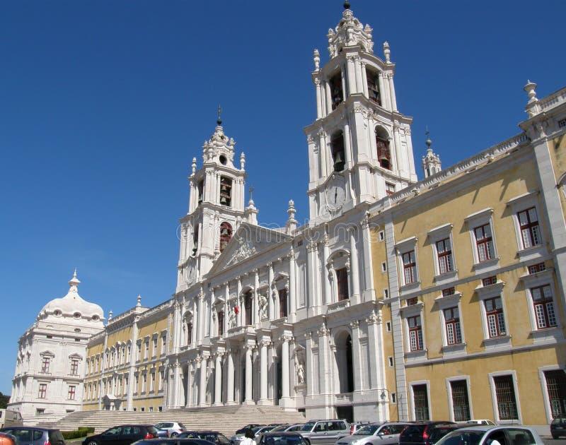 Palace of Mafra, Portugal royalty free stock photo