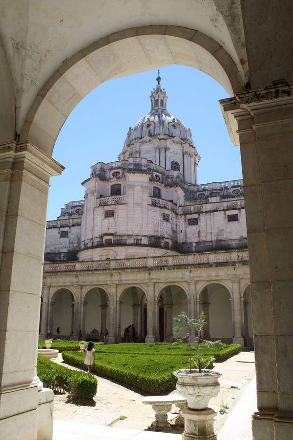 Palace of Mafra royalty free stock image