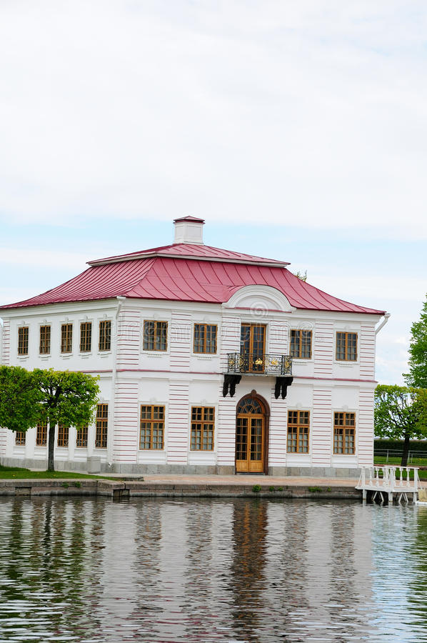 Palace Marli in Petergof park