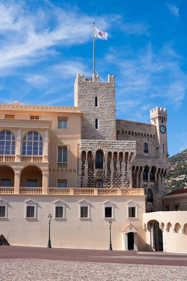 Palace in Monaco. Prince's Palace (Chateau Grimaldi) in Monaco stock image