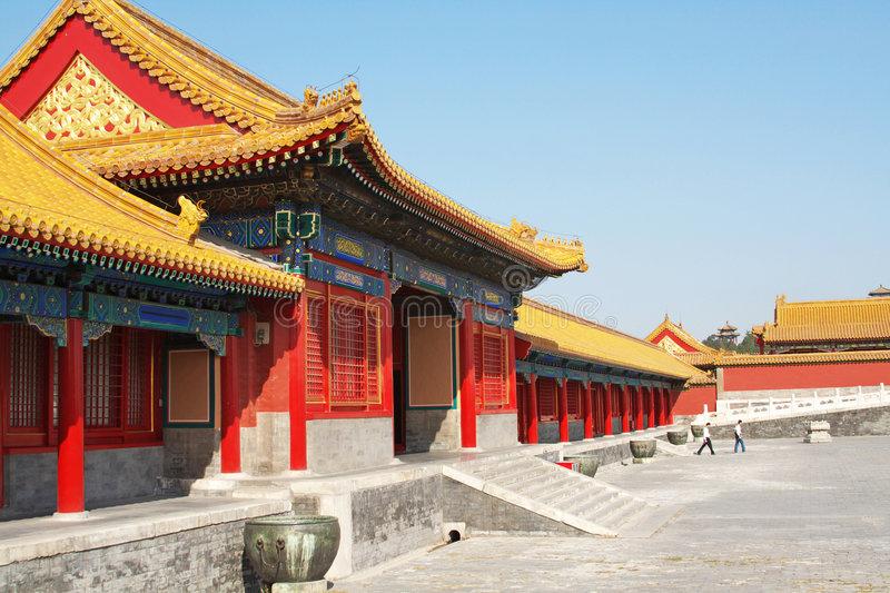 Palace Museum scenery stock images