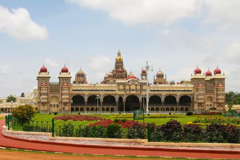 Palace of Mysore stock photo