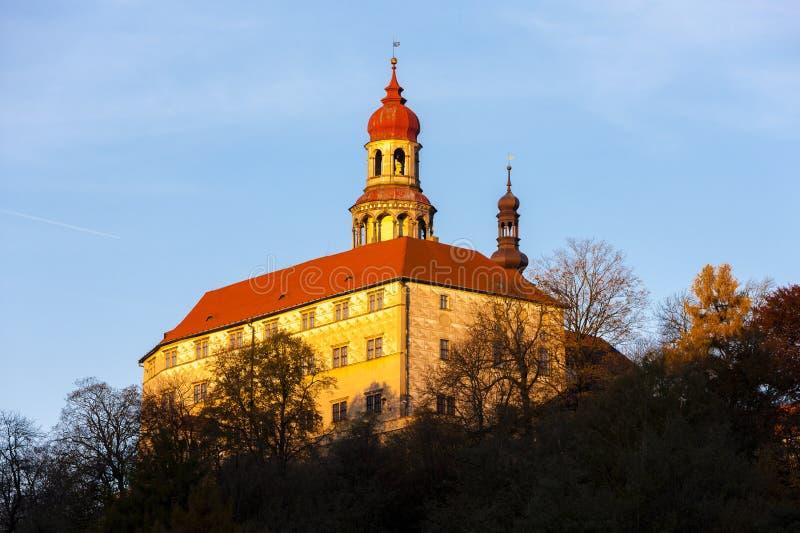 Palace of Nachod, Czech Republic stock photography
