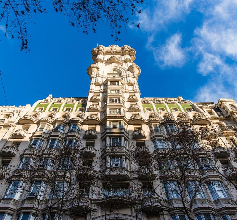 Buenos Aires, Argentina - July 4, 2017: Palacio Barolo building in Buenos Aires royalty free stock image