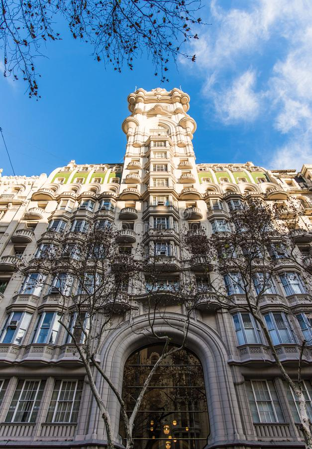 Buenos Aires, Argentina - July 4, 2017: Palacio Barolo building in Buenos Aires royalty free stock images