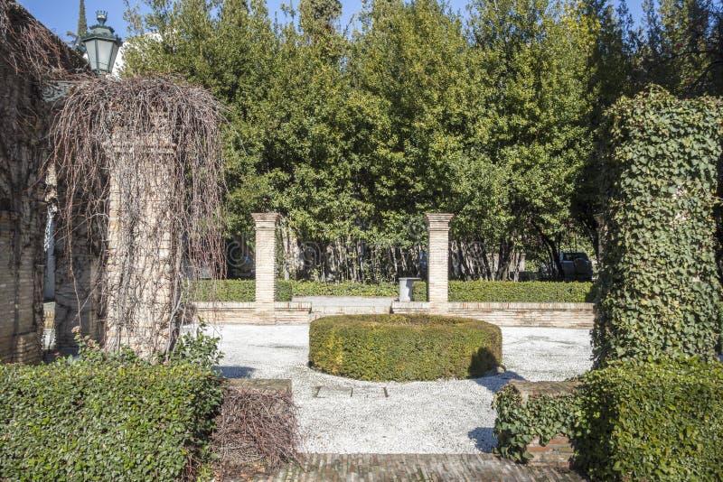 Palace, Palacio de los Cordova, Albaicin neighborhood,Granada,. Spain royalty free stock images