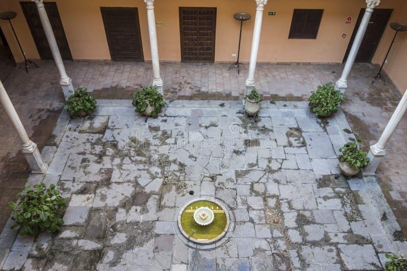 Palace, Palacio de los Cordova, Albaicin neighborhood,Granada,. Spain stock images