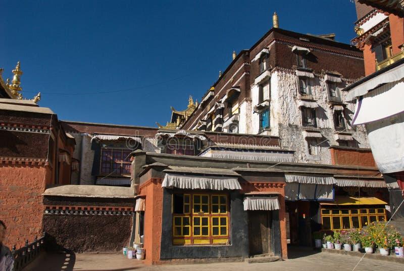 Download Palace of Panchen Lamas stock image. Image of tibet, meditation - 24437139