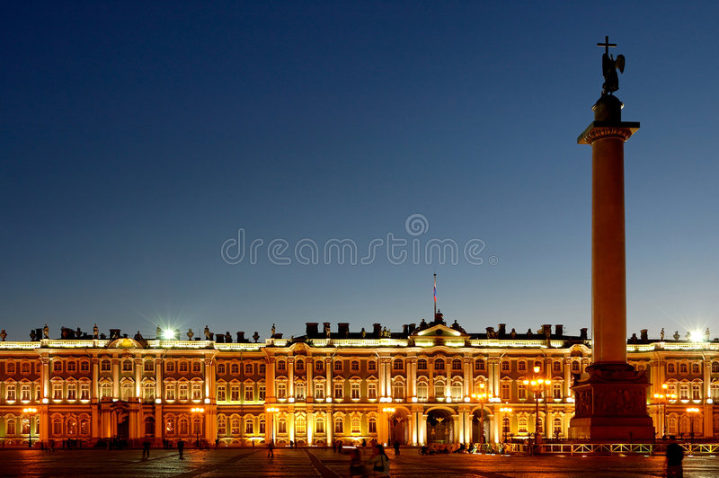 palace petersburg russia st winter στοκ εικόνα με δικαίωμα ελεύθερης χρήσης