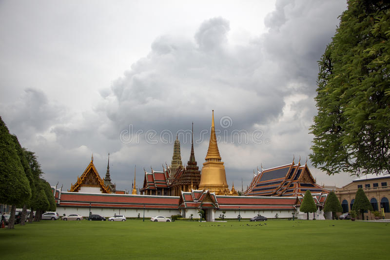 Palace of the Queen of Thailand royalty free stock images