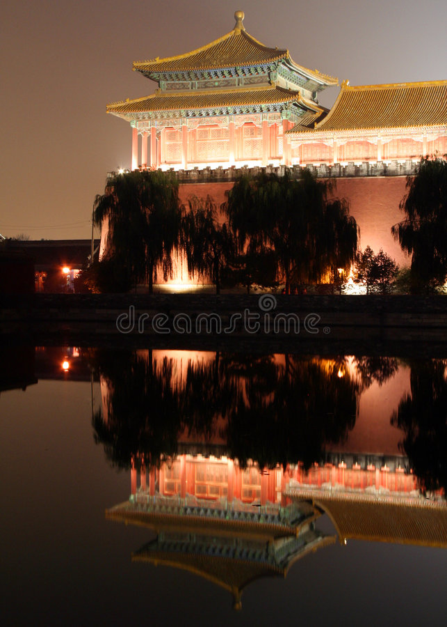 Palace reflections stock images