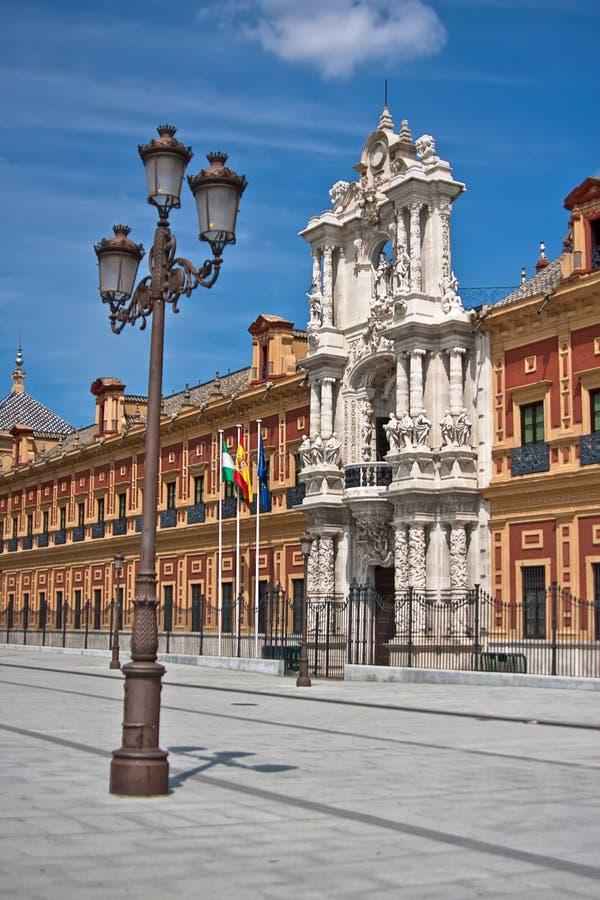Palace of Saint Telmo, Sevilla, Spain royalty free stock photo