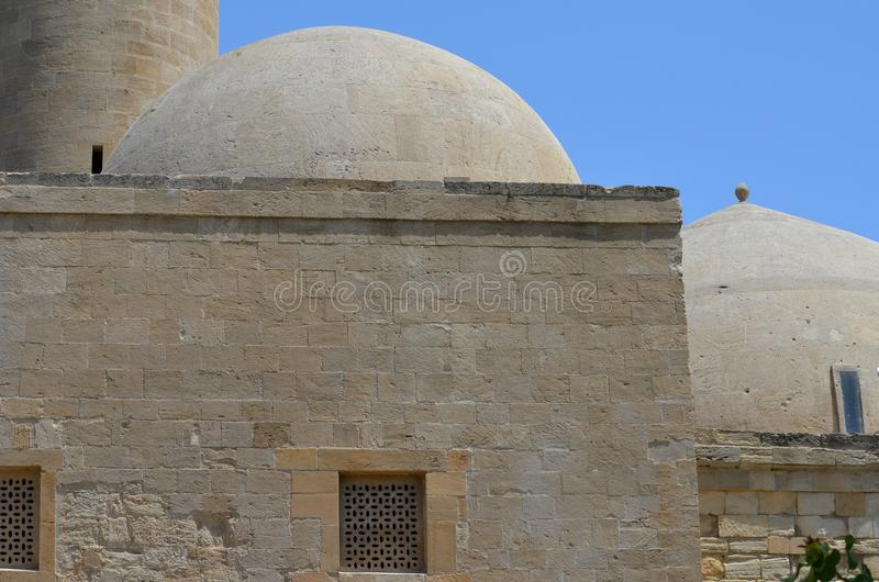 Palace of the Shirvanshahs in the old town of Baku, capital city of Azerbaijan stock photography