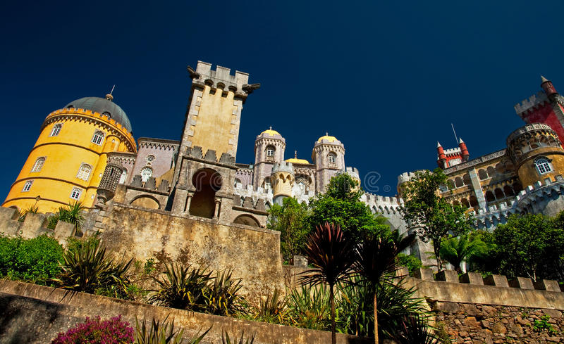 Palace of Sintra stock photography