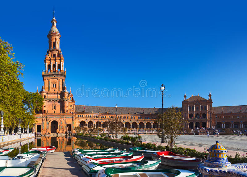 Download Palace At Spanish Square In Sevilla Spain Stock Photo - Image: 24769384