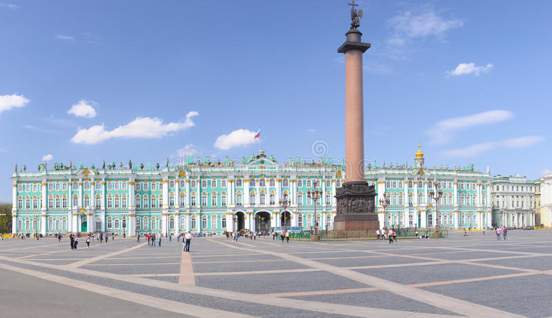 Download Palace Square, Saint-Petersburg, Russia Stock Image - Image of heritage, russian: 14640187