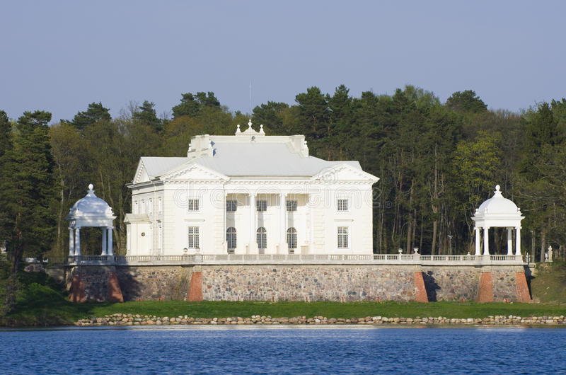 Download Palace of Tyshkevich stock photo. Image of residence - 26144608