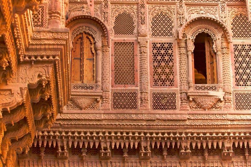 Palace.Udaipur.India. stock foto's